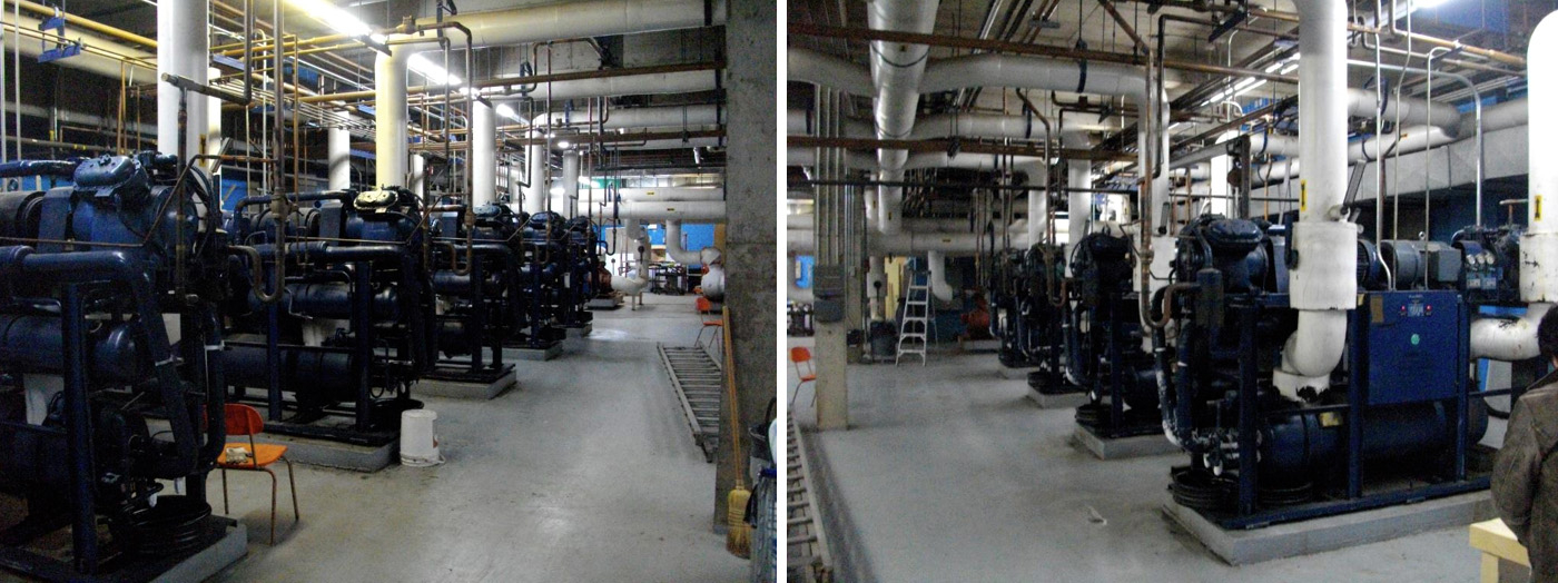 Co2 Sports Center Arena Cooling Heating Refrigeration