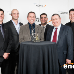 Our energy efficiency project wins the Energia Award (AQME)